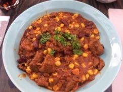 Chilli con Carne als Hauptspeise für 4,50 Euro.
