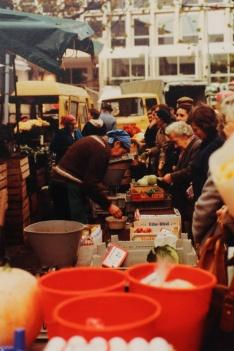 Seit 70 Jahren verkauft Familie Frason Obst und Gemüse auf dem Markt.